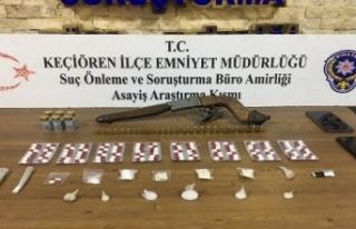 Ankara'da Uyuşturucu Operasyonu: Suçüstü...