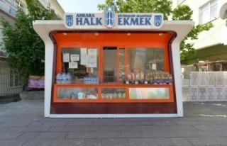 Ankara'da 11 Yeni Halk Ekmek Büfesi Açılacak