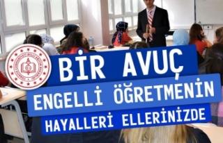 Atama Bekleyen Engelli Öğretmenlerden Cumhurbaşkanı...