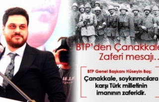 BTP Lideri Hüseyin Baş: Asıl Soykırımcı Çanakkale'de...