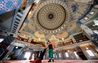 Çankaya'da Camiler Ramazana Hazırlanıyor