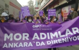 CHP Ankara Kadın Kolları Başkanlığı'ndan...
