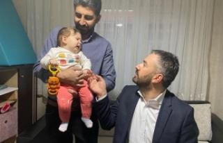 Ertuğrul Çetin SMA Hastası Bedia Bebeğe Misafir...
