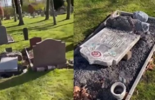 İsveç'te Skandal: Müslüman Mezarlığına...
