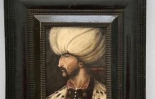 Kanuni Sultan Süleyman'ın Portresi 438 bin...