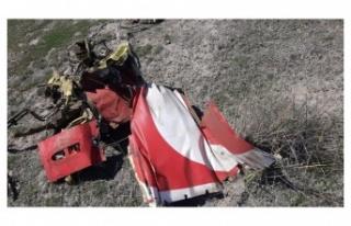 Konya'da Düşen Uçakta Şehit Olan Pilot Yüzbaşının...