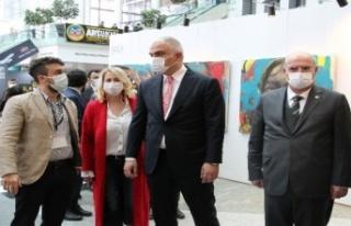 Kültür ve Turizm Bakanı ArtAnkara'yı Ziyaret...