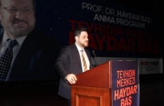 Prof. Dr. Haydar Baş Vefatının Birinci Yılında...