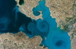 Van Gölü Fotoğrafı NASA'nın Yarışmasında...