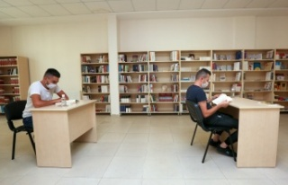 Yenimahalle'nin Kütüphanelerine Yoğun İlgi