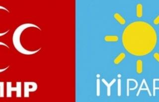135 kişi İYİ Parti'den İstifa Edip MHP'ye...