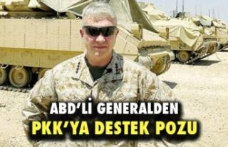ABD'li Generalden PKK Terör Örgütüne Destek...