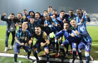 Adana Demirspor Süper Lig'e Yükseldi!