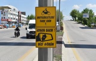 Ankara Büyükşehir'den Motosiklet Sürücüleri...