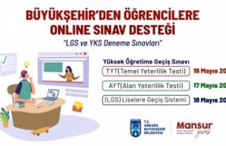 Ankara Büyükşehir'den Öğrencilere 'Online...