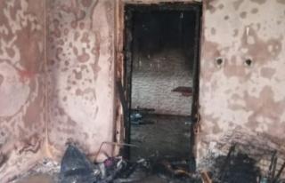 Ankara'da Dehşet: Evini Yakıp Bileklerini Kesti