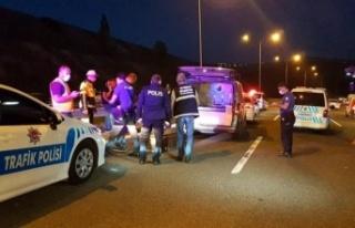 Ankara'da Feci Kaza: Motosiklet Devrildi, Sürücü...