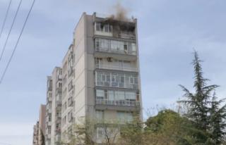 Ankara'da Korkutan Yangın: Evinin Yandığını...