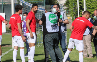 Ankara Demirspor'dan Foto Muhabirlere Çirkin...