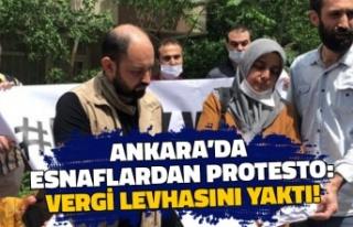 Ankara Esnafından 'Koronavirüs' Protestosu:...
