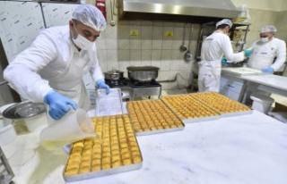 Ankara Halk Ekmek Tatlı Üretimini Artırdı