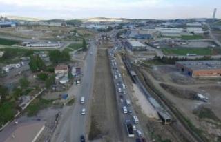 Ankara-Kahramankazan Arasındaki Mesafe 15 Dakika...