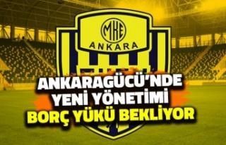 Ankaragücü'nde Yeni Yönetimi Borç Yükü...