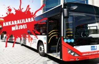Ankaralılar 8 Yıl Sonra Yeni Otobüslerine Kavuşuyor