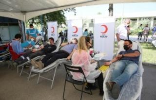 ASKİ ve Türk Kızılayı'ndan Ortak Kan Bağışı...