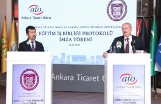ATO ve Ankara Sosyal Bilimler Üniversitesi İş Birliği...