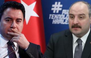 Bakan Varank Ali Babacan'ı Tuş Etti: Terletecek...