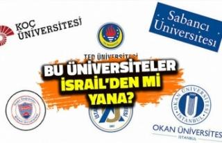 Bu Üniversiteler İsrail'den mi Yana? Filistin...