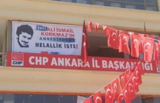 CHP Ankara, Ali İsmail Korkmaz'ı Unutmadı!