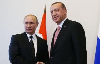 Erdoğan'dan Putin'e 'Filistin'e...
