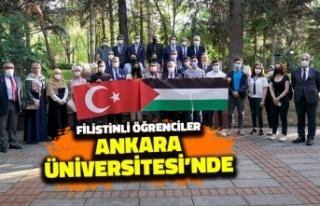 Filistinli Öğrenciler Ankara Üniversitesi'nde:...