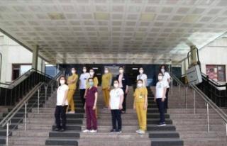 Gazi Üniversitesi Hastanesi Hemşireleri'nden...