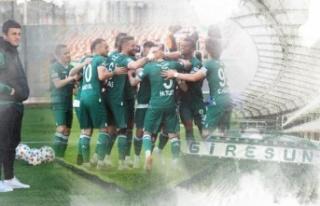 GZT Giresunspor Süper Lig'de!
