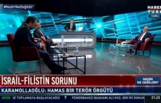 Habertürk'te Skandal 'Hamas Terör Örgütü'...