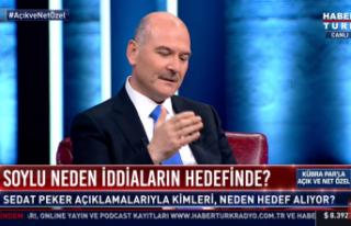 İçişleri Bakanı Süleyman Soylu Sedat Peker'in...
