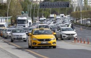 Kapanma Bitti Ankara Trafiği Kilitlendi!