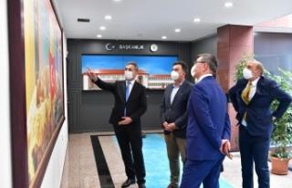 Kazakistan Dostluğu Mamak'ta Pekişti