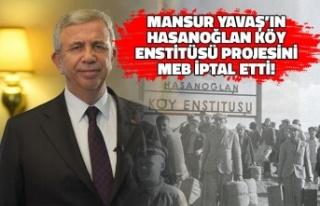 Mansur Yavaş'ın Hasanoğlan Köy Enstitüsü...