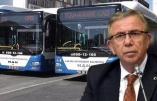 Mansur Yavaş'tan Yeni Otobüs Paylaşımı:...