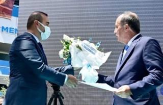 Muhammed Sarıkaya Memleket Partisi Ankara İl Başkanı...