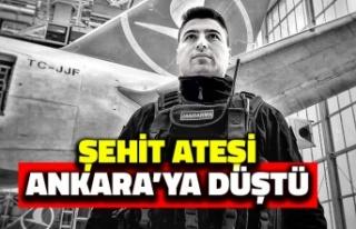 Şehit Ateşi Ankara'ya Düştü: Uzman Çavuş...