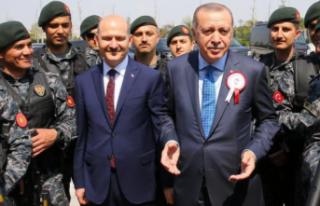Süleyman Soylu'dan Cumhurbaşkanı Erdoğan'a...