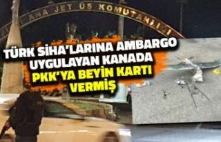 Türk SİHA'larına Ambargo Uygulayan Kanada...