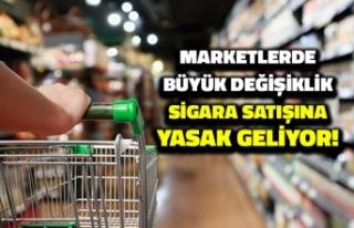Zincir Marketlerde Büyük Değişiklik: Sigara Satışına...