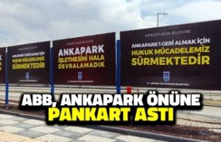Ankara Büyükşehir Belediyesi, Ankapark Önüne...