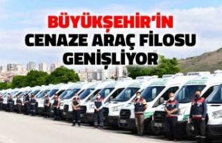 Ankara Büyükşehir Belediyesi'nin Cenaze Araç...